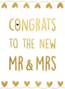 Wonderbaar HUWELIJK FELICITATIE ENGELS | Engelse huwelijksfelicitaties. HQ-07