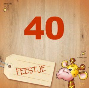 Verbazingwekkend SPREUK 40 JAAR   Leuke spreuken en teksten 40 jaar verjaardag. LN-06