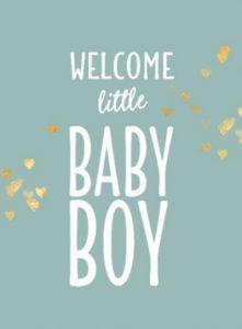 Onwijs FELICITATIE GEBOORTE ENGELS   Geboorte Engels cadeautjes. PW-22
