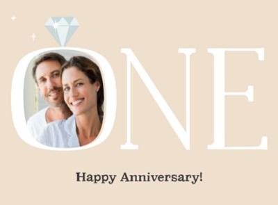 Spreuk 1 jaar getrouwd
